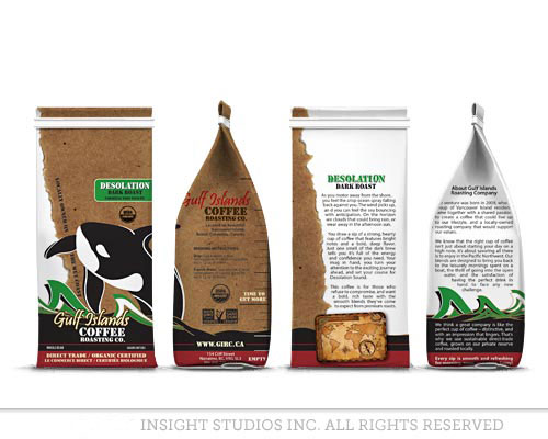 custom coffee bag design